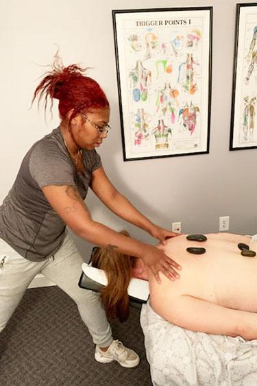 Chiropractic Roswell GA Hot Stone Massage