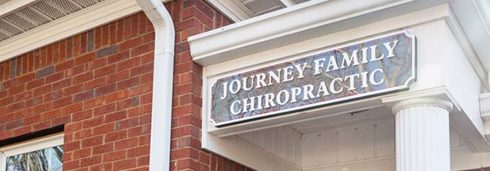 Chiropractic Roswell GA Journey Family Chiropractic Office Sign